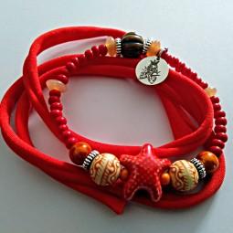 Red Star Bracelet