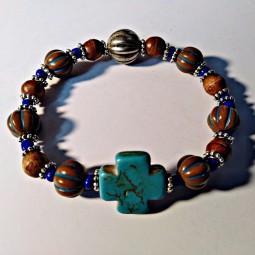 Bracelet Brown Blue