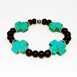 Bracelet Cross X4