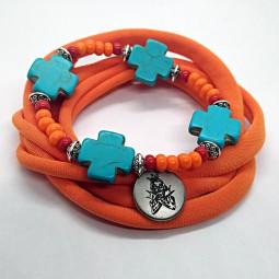 Orange Moon Bracelet